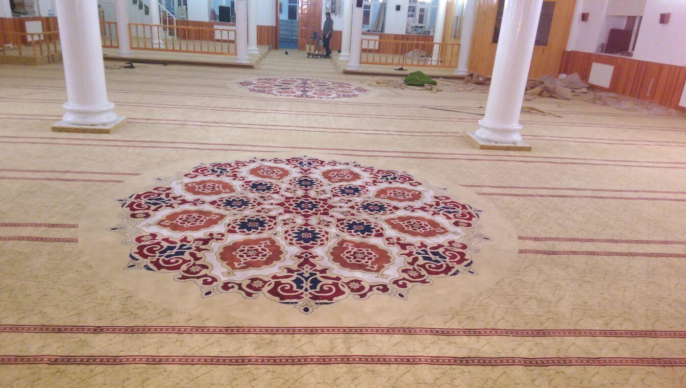 Cami Halısı Nasıl Döşenir