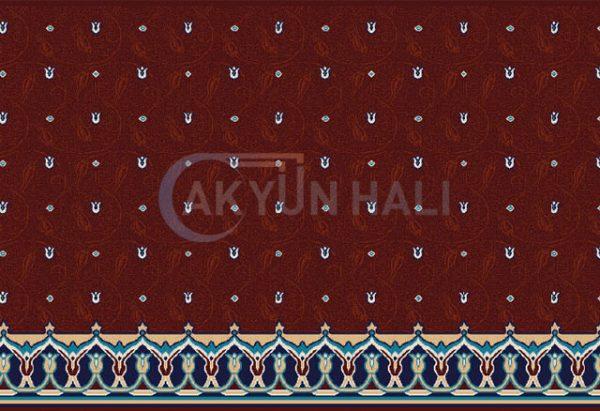 akr-501 Akrilik Cami Halısı Deseni