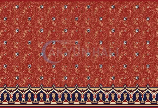 akr-504 Akrilik Cami Halısı Deseni