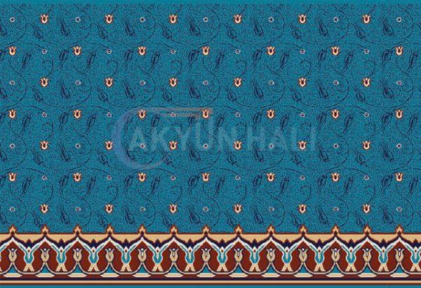 akr-507 Akrilik Cami Halısı Deseni