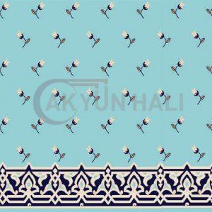 akr-512 Akrilik Cami Halısı Deseni