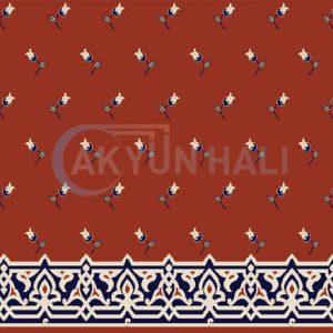 akr-514 Akrilik Cami Halısı Deseni