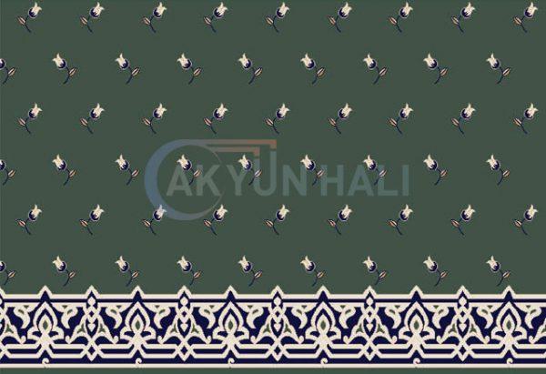 akr-515 Akrilik Cami Halısı Deseni