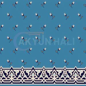 akr-517 Akrilik Cami Halısı Deseni