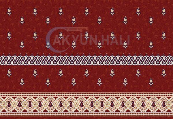 akr-521 Akrilik Cami Halısı Deseni