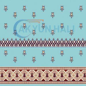 akr-522 Akrilik Cami Halısı Deseni