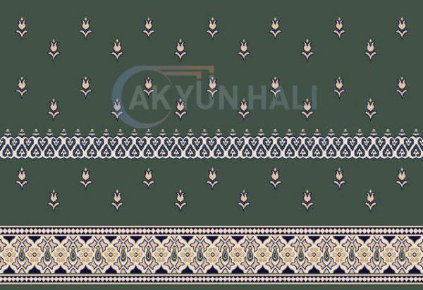 akr-525-b Akrilik Cami Halısı Deseni