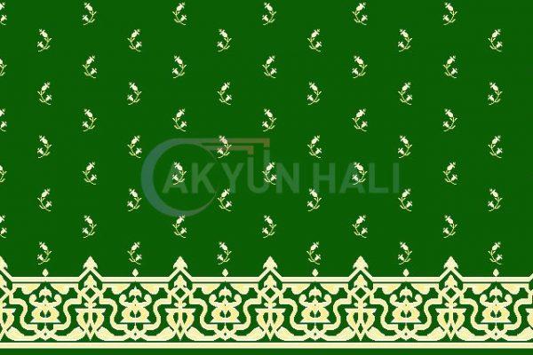 akyun-105 Yün Cami Halısı Deseni