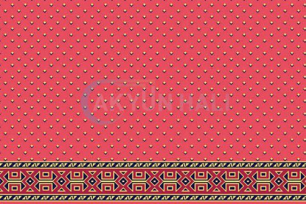akyun-113 Yün Cami Halısı Deseni