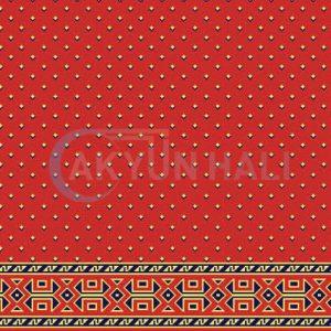 akyun-119 Yün Cami Halısı Deseni