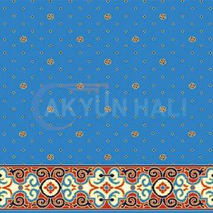 akyun-122 Yün Cami Halısı Deseni