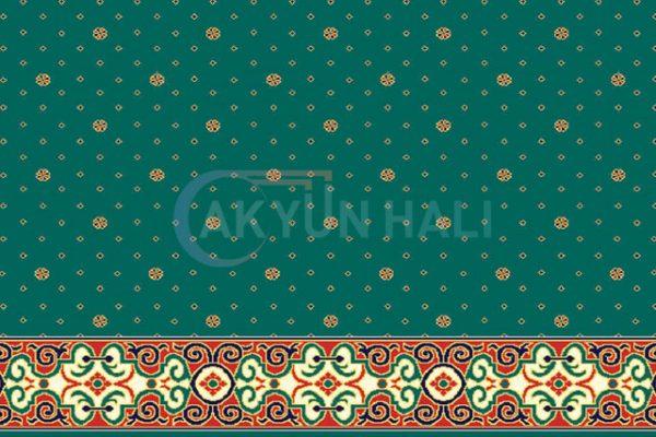 akyun-125 Yün Cami Halısı Deseni