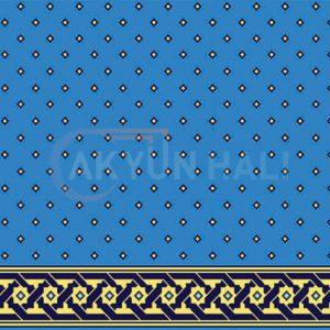 akyun-132 Yün Cami Halısı Deseni