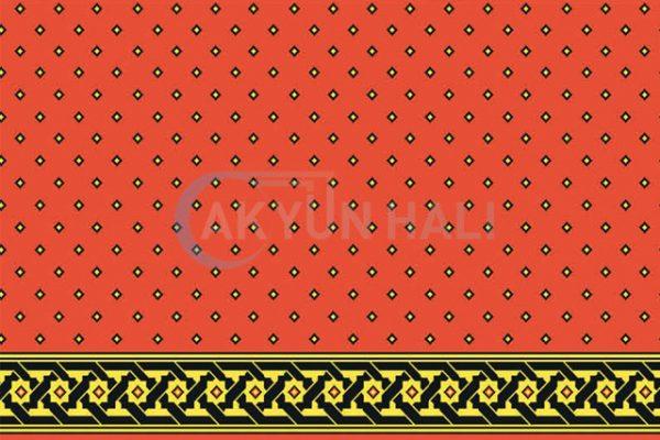 akyun-133 Yün Cami Halısı Deseni