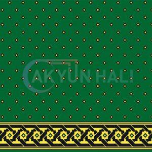 akyun-135 Yün Cami Halısı Deseni