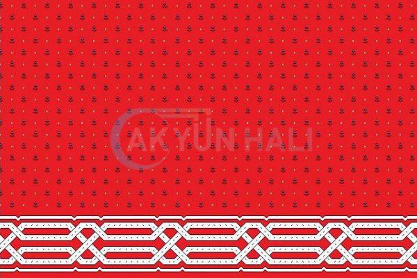 akyun-149 Yün Cami Halısı Deseni