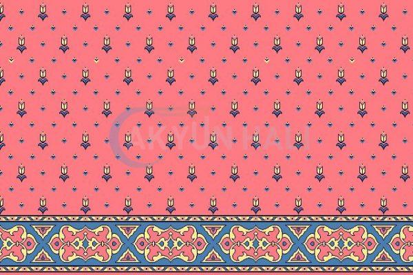akyun-153 Cami Halısı Deseni