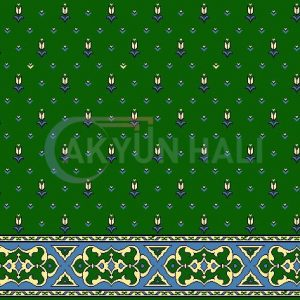akyun-155 Yün Cami Halısı Deseni