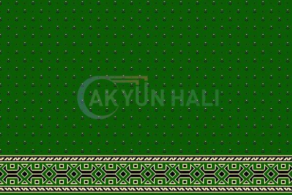 akyun-165 Yün Cami Halısı Deseni