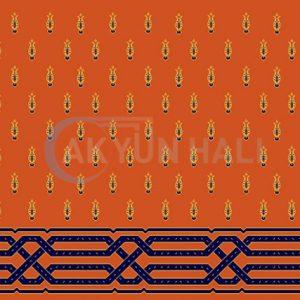 akyun-174 Yün Cami Halısı Deseni