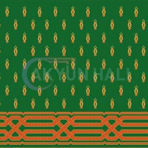 akyun-175 Yün Cami Halısı Deseni