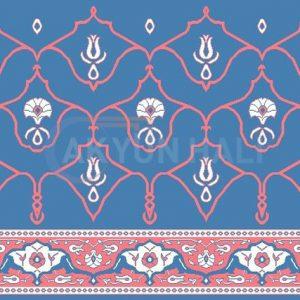 akyun-192 Yün Cami Halısı Deseni