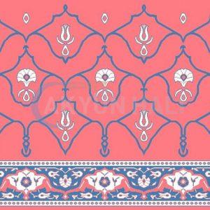 akyun-193 Yün Cami Halısı Deseni