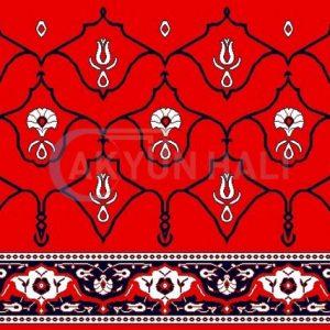 akyun-199 Yün Cami Halısı Deseni