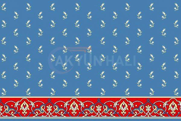 akyun-202 Yün Cami Halısı Deseni