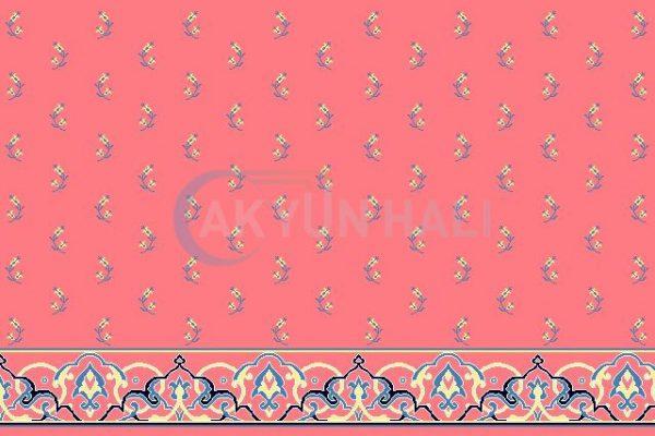 akyun-203 Yün Cami Halısı Deseni