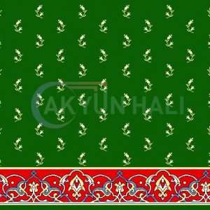 akyun-205 Yün Cami Halısı Deseni
