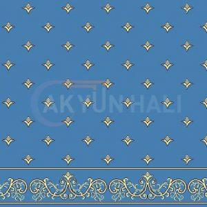 akyun-222 Yün Cami Halısı Deseni