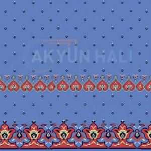 akyun-242 Yün Cami Halısı Deseni