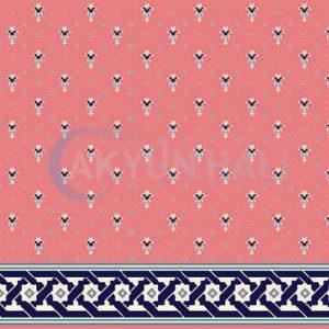 akyun-253 Yün Cami Halısı Deseni