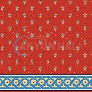 akyun-254 Yün Cami Halısı Deseni