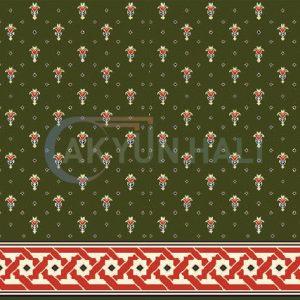 akyun-255 Yün Cami Halısı Deseni