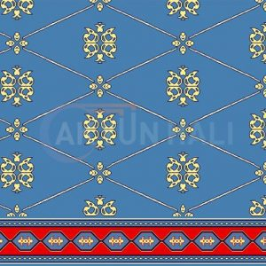 akyun-262 Yün Cami Halısı Deseni