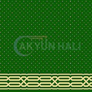 akyun-275 Yün Cami Halısı Deseni