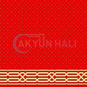 akyun-279 Yün Cami Halısı Deseni