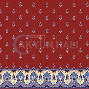 akyun-401 Yün Cami Halısı Deseni