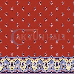 akyun-404 Yün Cami Halısı Deseni