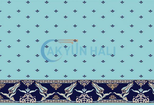 akr-532 Akrilik Cami Halısı Deseni