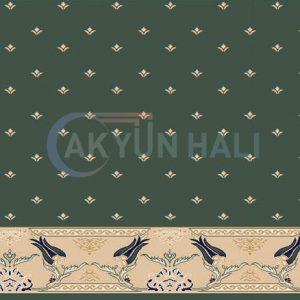 akr-535 Akrilik Cami Halısı Deseni